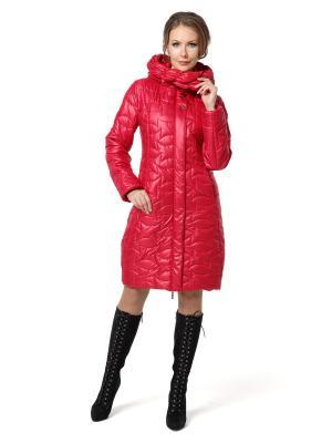 Стеганое пальто DizzyWay. Цвет: красный