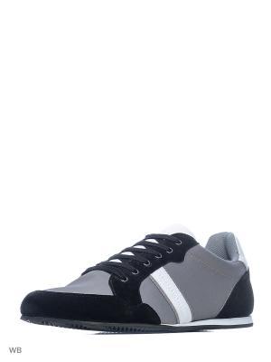 Кроссовки Trussardi. Цвет: серый, черный