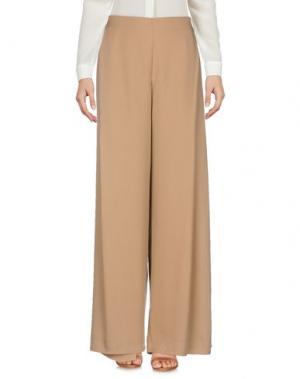Повседневные брюки STEFANEL. Цвет: песочный
