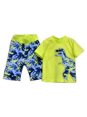 Комплект  одежды Baby Boom. Цвет: салатовый
