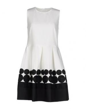 Короткое платье LA CAMICIA BIANCA. Цвет: белый