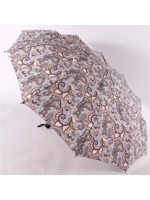 Зонт Zest. Цвет: бежевый, серый