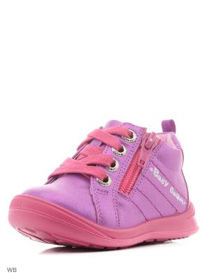 Ботинки San Marko. Цвет: сиреневый