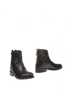 Полусапоги и высокие ботинки RÊVE D'UN JOUR. Цвет: темно-коричневый