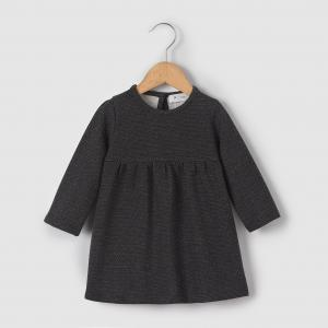Платье в блестящий горошек 1 мес-3 лет R essentiel. Цвет: черный/в горошек