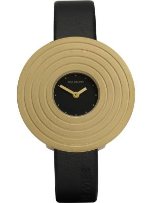 Часы Rolf Cremer Solea Black. Цвет: черный