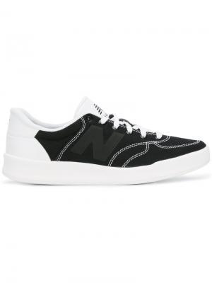 Кеды на шнуровке New Balance. Цвет: чёрный