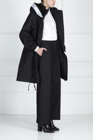 Хлопковые брюки ARnouveau. Цвет: черный