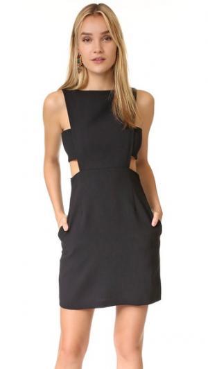 Платье с вырезами Jill Stuart. Цвет: голубой