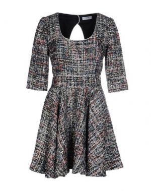 Короткое платье EYEDOLL. Цвет: темно-синий