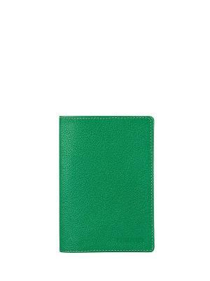 Обложка для паспорта FABULA. Цвет: зеленый
