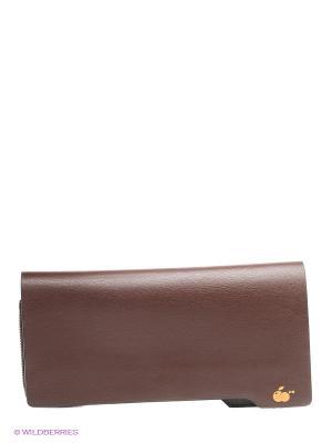 Портмоне WB. Цвет: коричневый
