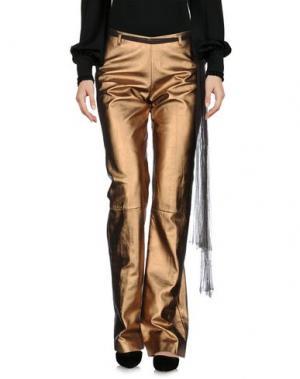 Повседневные брюки ANGELOS FRENTZOS. Цвет: медный