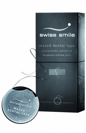 Вощеная зубная нить Basel Swiss Smile. Цвет: бесцветный