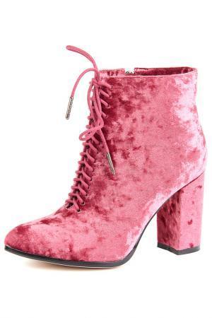 Ботильоны Vita Ricca. Цвет: розовый