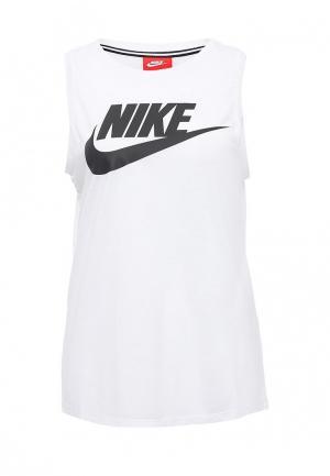 Майка Nike. Цвет: белый