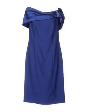 Короткое платье CAILAN'D. Цвет: синий