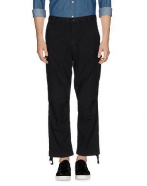 Повседневные брюки WHITE MOUNTAINEERING. Цвет: стальной серый