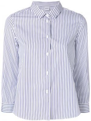 Рубашка в полоску Aspesi. Цвет: белый