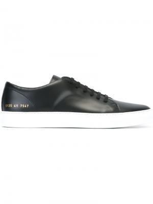 Классические туфли на шнуровке Common Projects. Цвет: чёрный