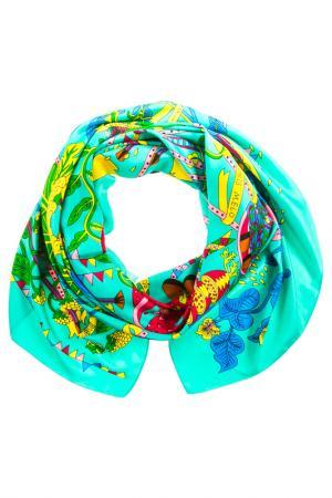 Платок Vita Pelle. Цвет: мятный, голубой