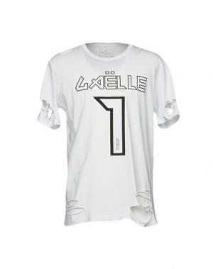 Футболка GAëLLE Paris. Цвет: белый