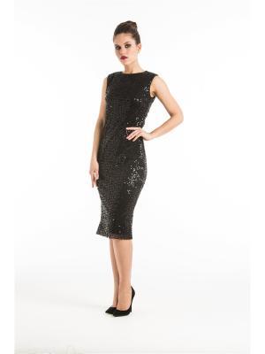 Платье футляр с пайетками YULIA'SWAY