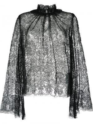 Блузка Del Mar Alice Mccall. Цвет: чёрный
