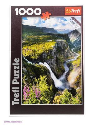 Водопад Верингсфоссен в Норвегии Trefl. Цвет: зеленый
