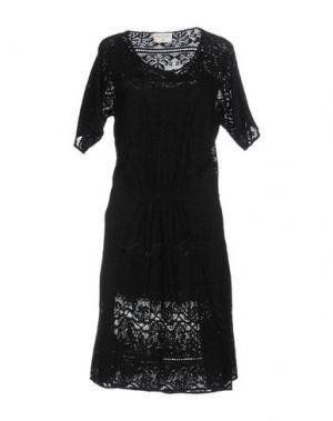 Платье до колена SONIA DE NISCO. Цвет: черный
