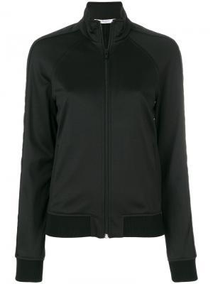 Приталенная толстовка на молнии Givenchy. Цвет: чёрный