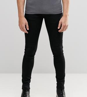 Brooklyn Supply Co. Черные джинсы с напылением Co Hunter. Цвет: черный