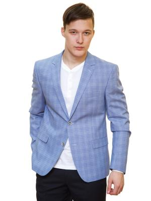 Пиджак Daniel Diaz. Цвет: голубой, светло-голубой