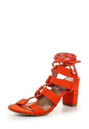 Босоножки Catisa. Цвет: оранжевый