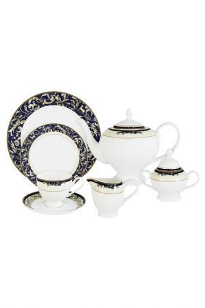 Чайный сервиз, 40 предметов EMERALD. Цвет: мультицвет