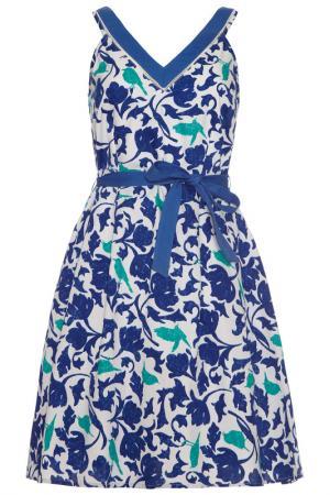 Платье Uttam Boutique. Цвет: blue, green, white