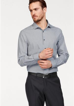 Рубашка Class International. Цвет: серый