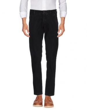 Повседневные брюки NICHOL JUDD. Цвет: темно-коричневый