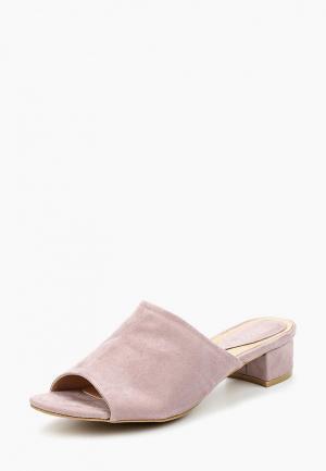 Сабо Sweet Shoes. Цвет: фиолетовый