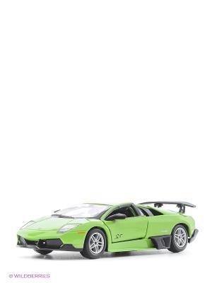 1:24 BB Машина Lamborghini Murcielago PL670-4 SV металл. Bburago. Цвет: салатовый