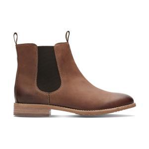 Ботинки-челси кожаные Maypearl Nala CLARKS. Цвет: каштановый,черный