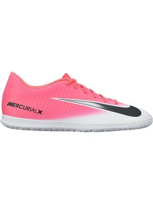 Кеды для зала MERCURIALX VORTEX III IC Nike. Цвет: розовый