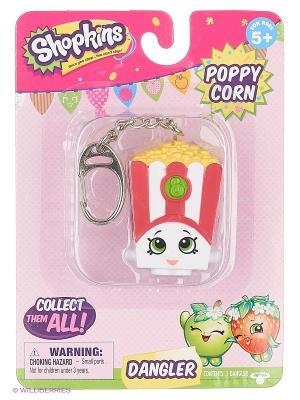 Брелок Шопкинс Shopkins Poppy Corn Moose. Цвет: белый