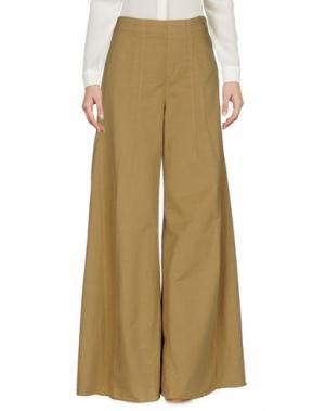 Повседневные брюки .TESSA. Цвет: верблюжий
