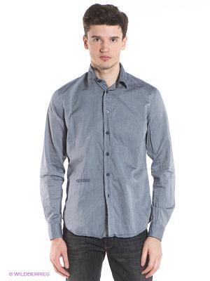 Рубашка TWINKY/S GAS. Цвет: серый