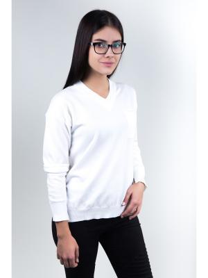 Пуловер Fronzoli. Цвет: белый