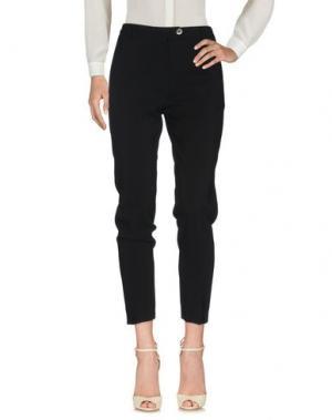 Повседневные брюки BEATRICE. Цвет: черный