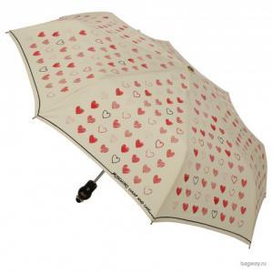 Umbrellas M 263 (M 263-OCI New Hearts beige) Moschino. Цвет: желтый