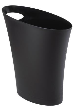 Контейнер мусорный Skinny UMBRA. Цвет: черный