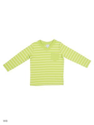 Трикотажный пуловер Cutie Bear. Цвет: салатовый, белый